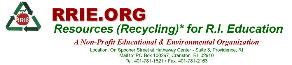 RRIE: Recycling for RI Education - Welcome